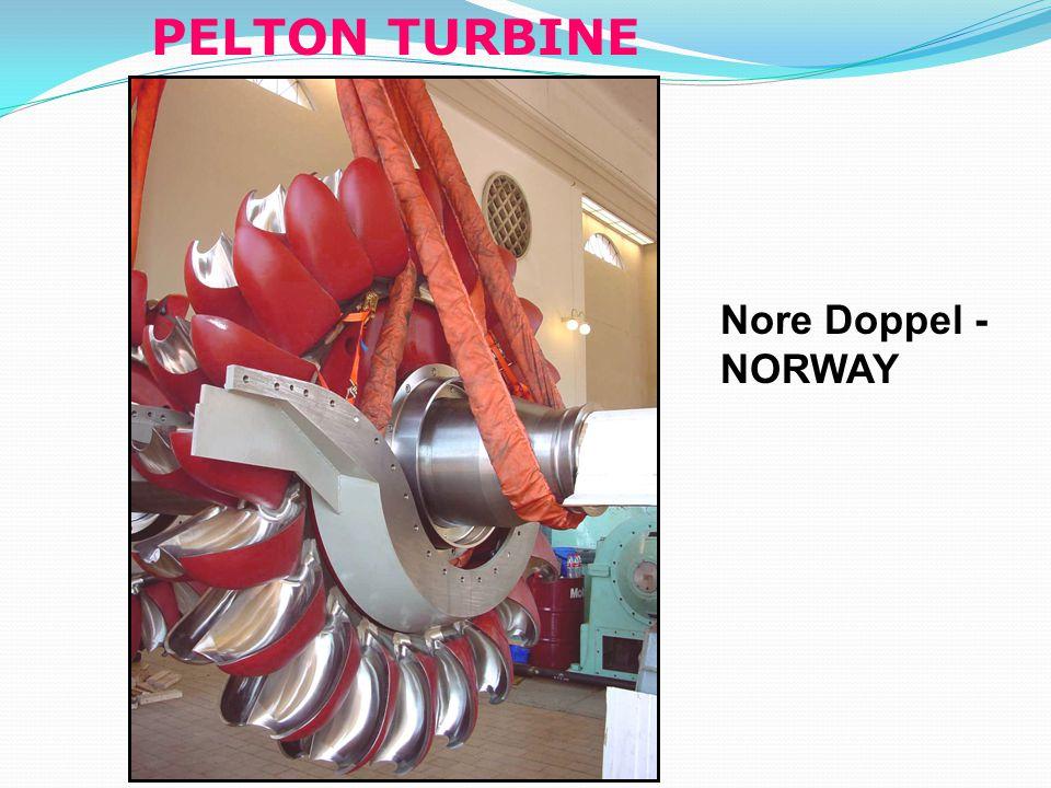 PELTON TURBINE Nore Doppel - NORWAY