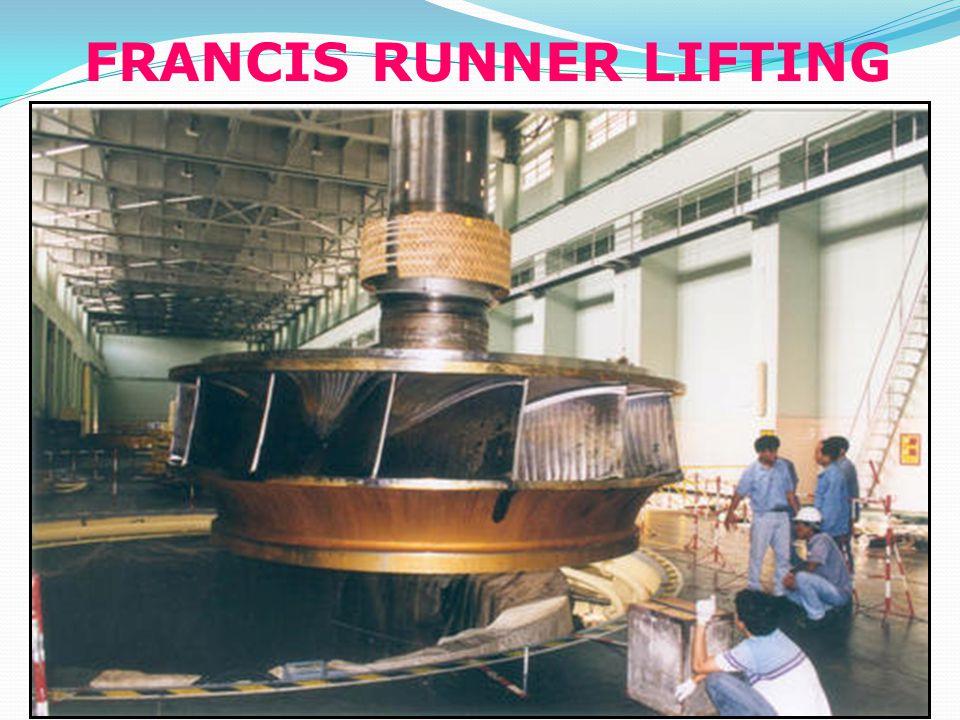 FRANCIS RUNNER LIFTING
