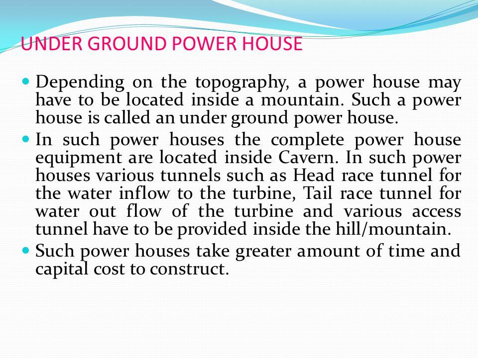 UNDER GROUND POWER HOUSE