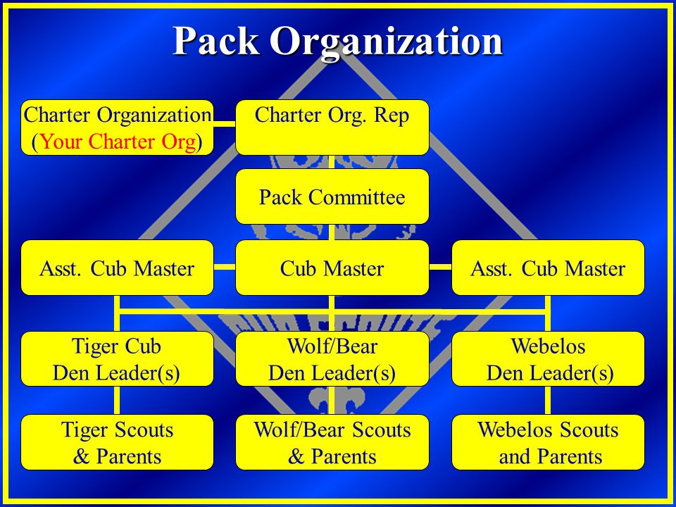 Pack Organization Charter Organization (Your Charter Org)