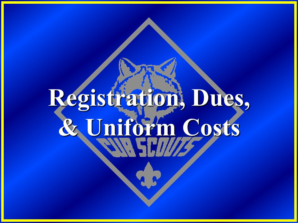 Registration, Dues, & Uniform Costs