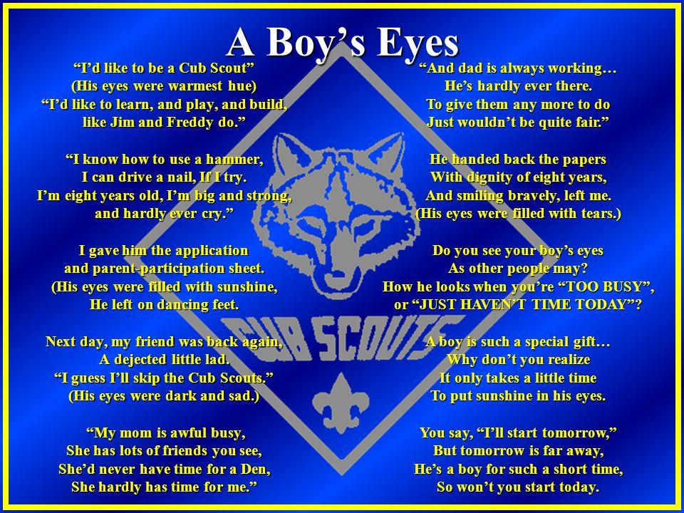 A Boy's Eyes