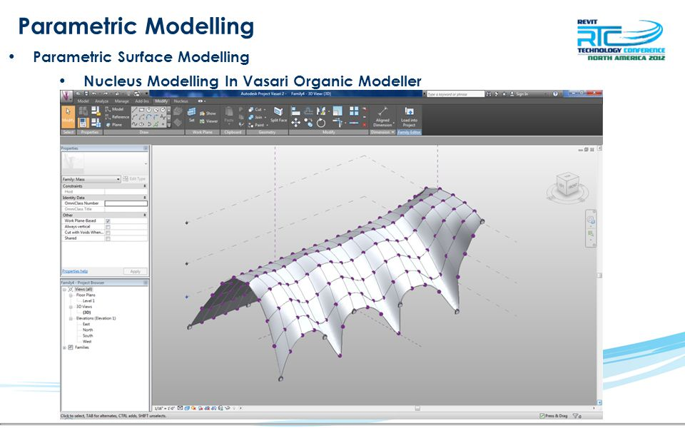 Parametric Modelling Parametric Surface Modelling