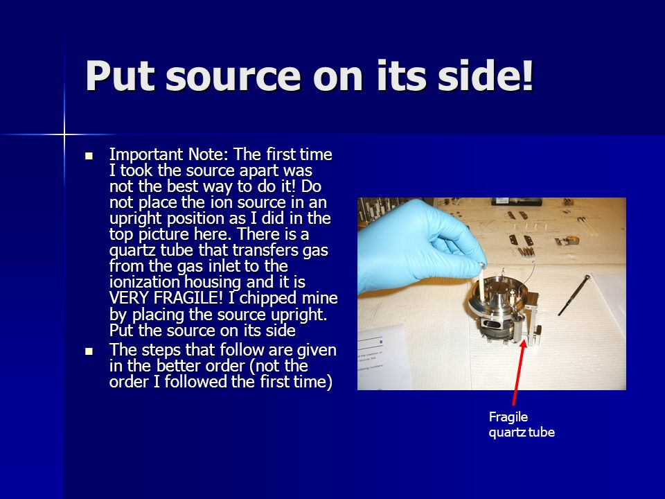 Put source on its side!