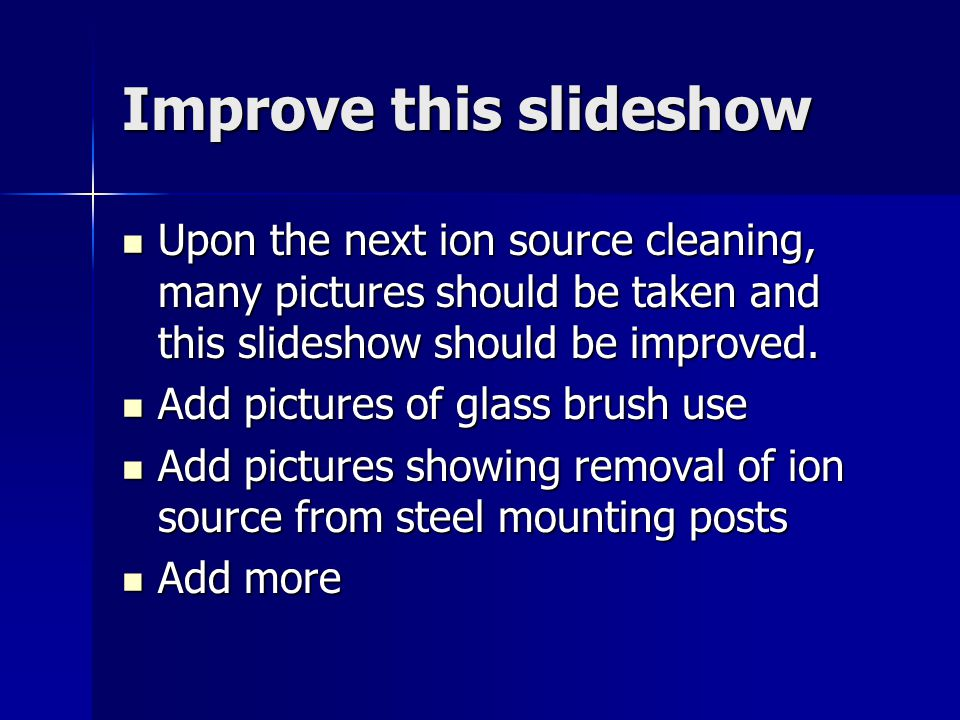 Improve this slideshow