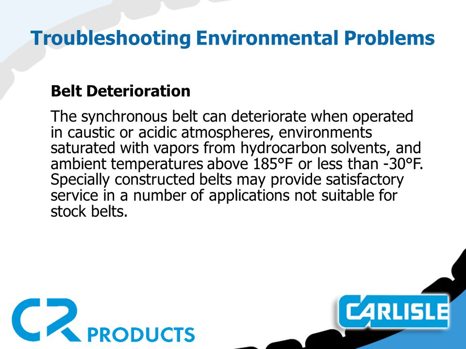 Troubleshooting Environmental Problems