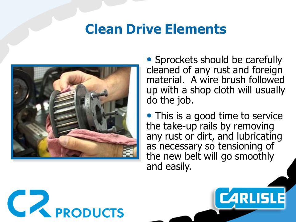 Clean Drive Elements