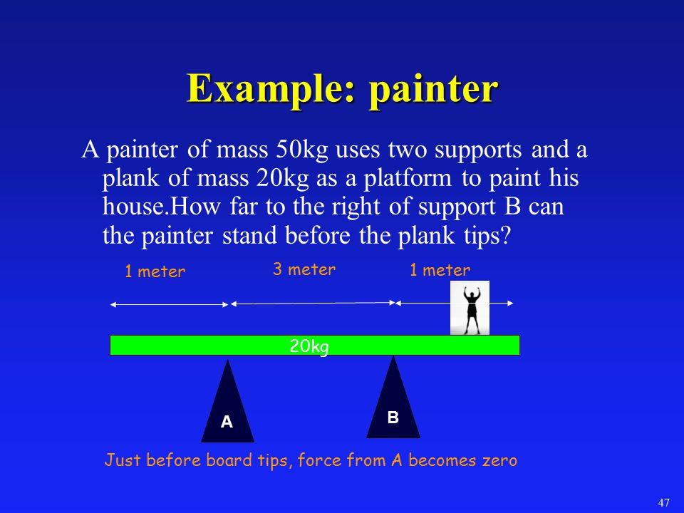 Example: painter