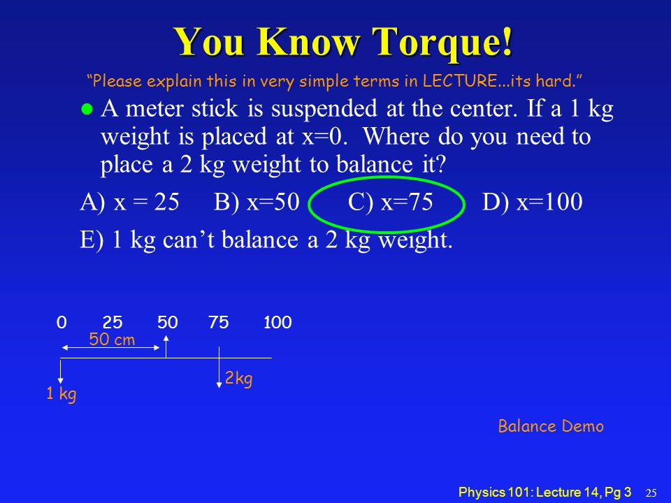 You Know Torque! Please explain this in very simple terms in LECTURE...its hard.