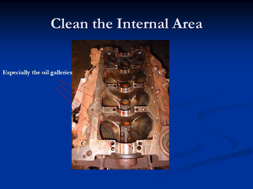 Clean the Internal Area