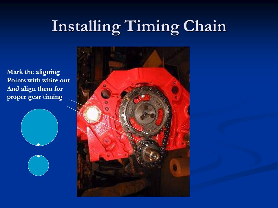 Installing Timing Chain