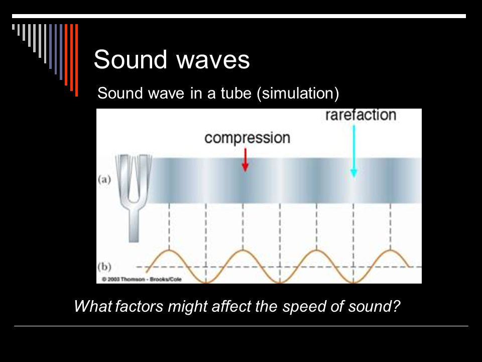What factors might affect the speed of sound
