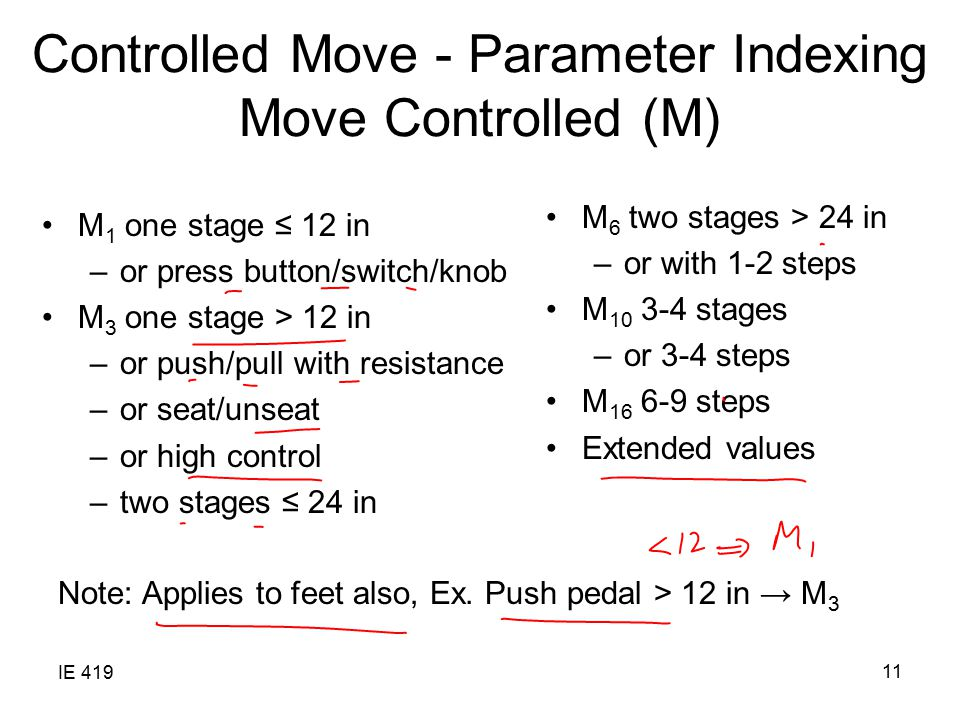 Controlled Move - Parameter Indexing Move Controlled (M)