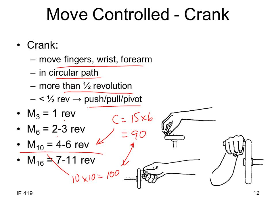 Move Controlled - Crank