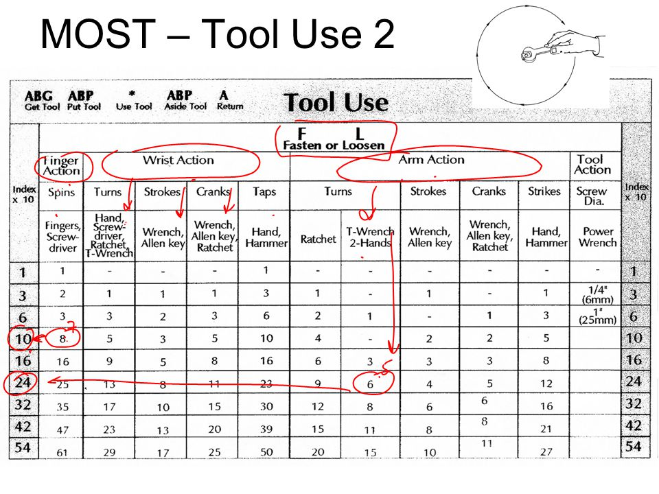 MOST – Tool Use 2 IE 419