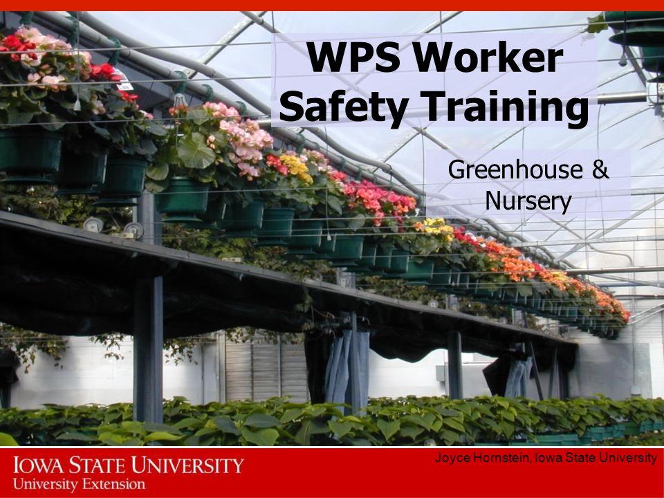 WPS Worker Safety Training