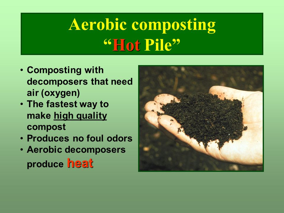 Aerobic composting Hot Pile