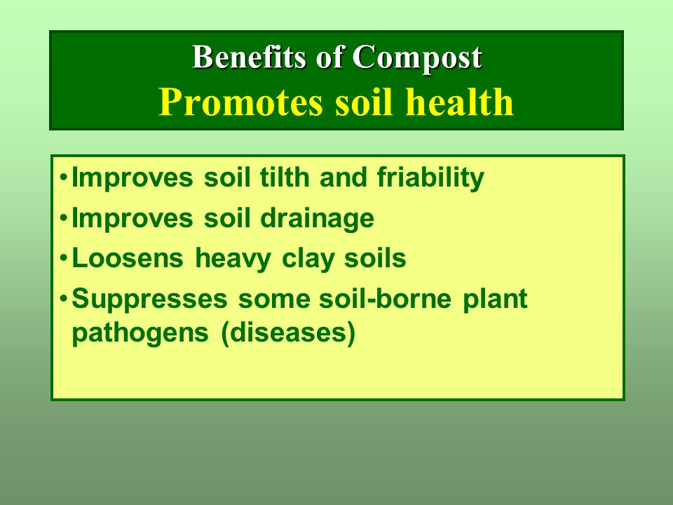 Composting it s recycling composting is recycling for Soil borne diseases
