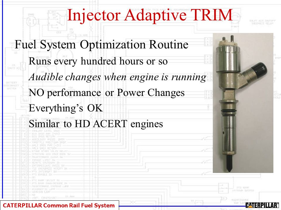 Injector Adaptive TRIM