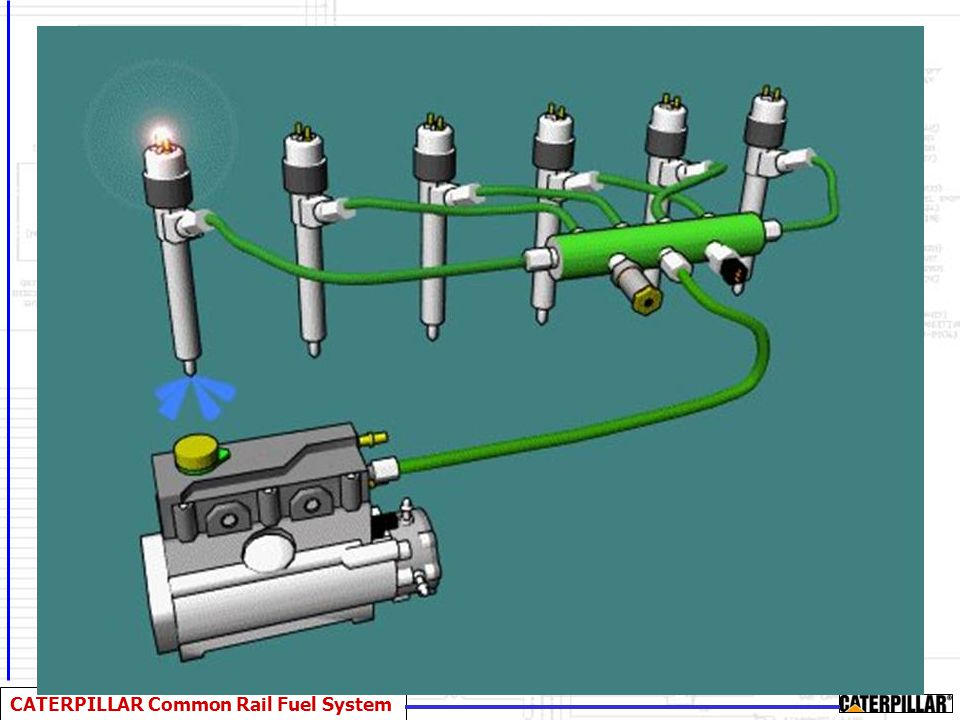 The common rail fuel system, is a two stage fuel distribution system.