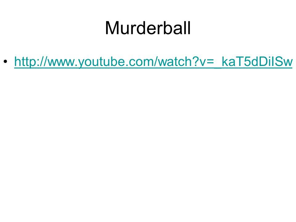 Murderball http://www.youtube.com/watch v=_kaT5dDiISw
