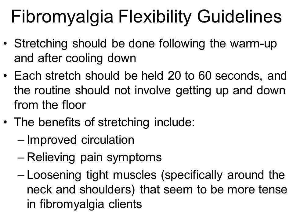 Fibromyalgia Flexibility Guidelines