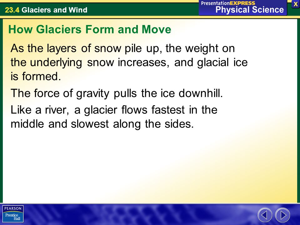 How Glaciers Form and Move