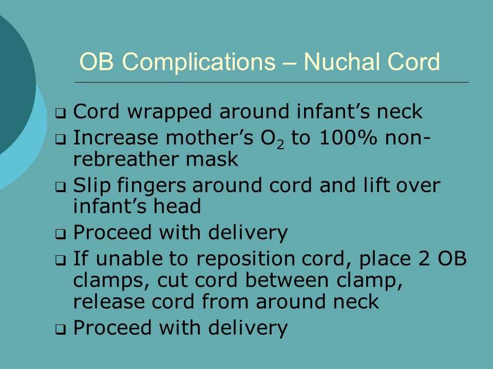 OB Complications – Nuchal Cord