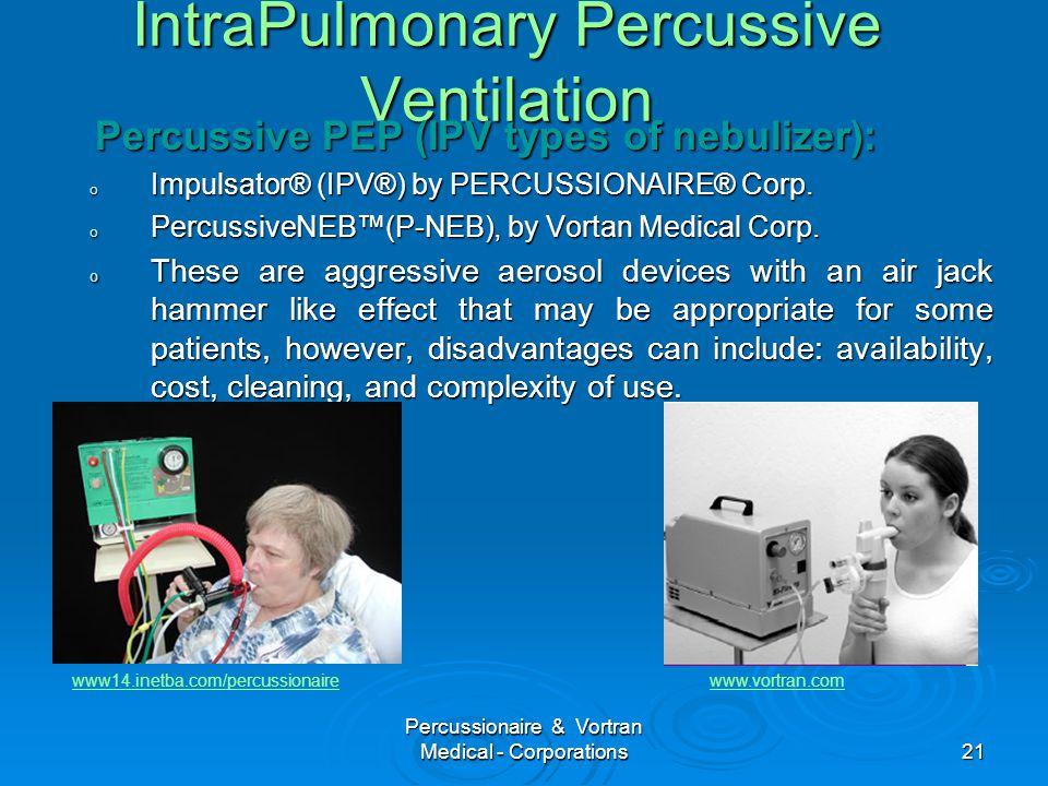 IntraPulmonary Percussive Ventilation
