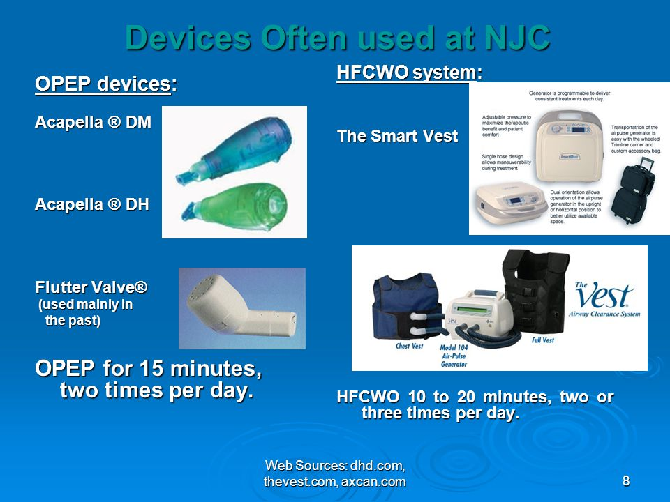 Devices Often used at NJC
