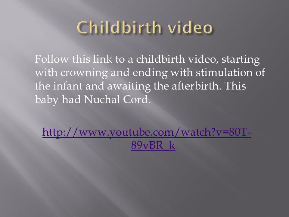 Childbirth video