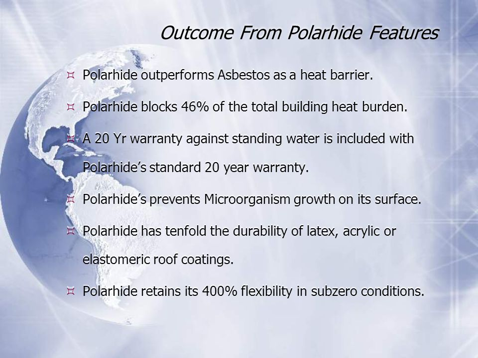 Outcome From Polarhide Features