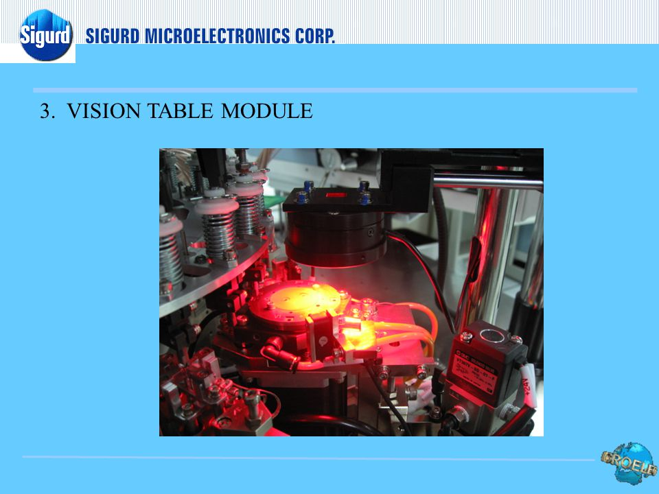 3. VISION TABLE MODULE