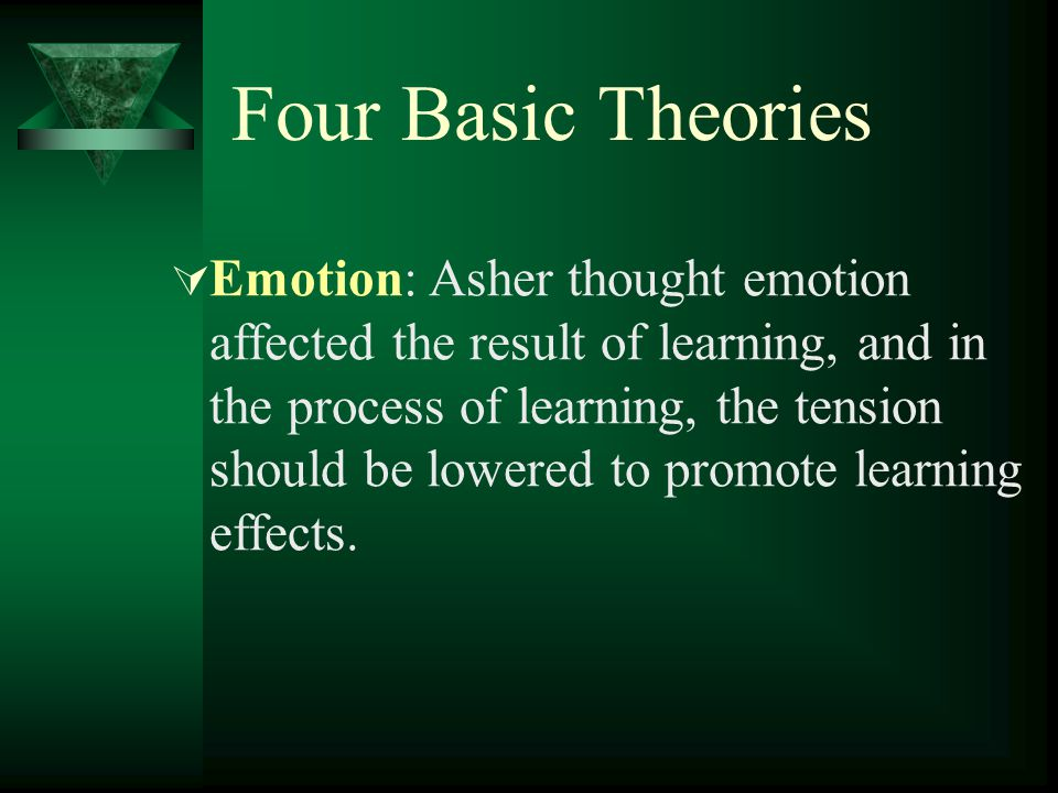 Four Basic Theories