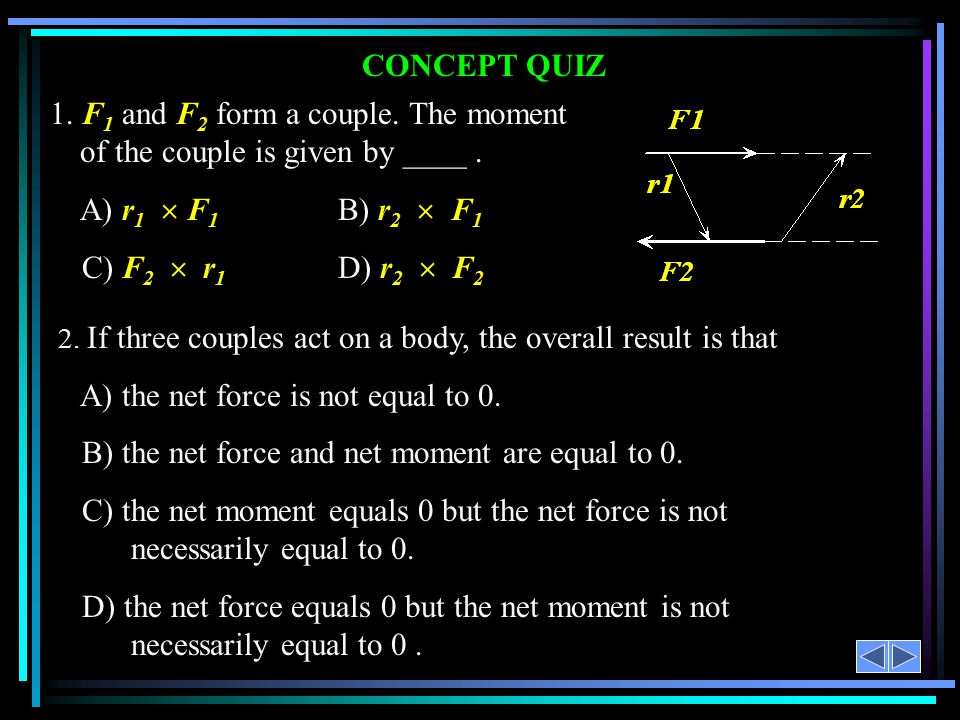 A) the net force is not equal to 0.