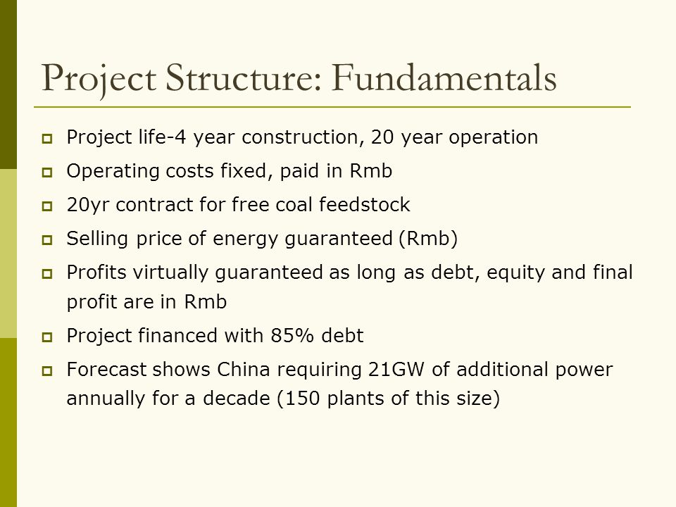 Project Structure: Fundamentals