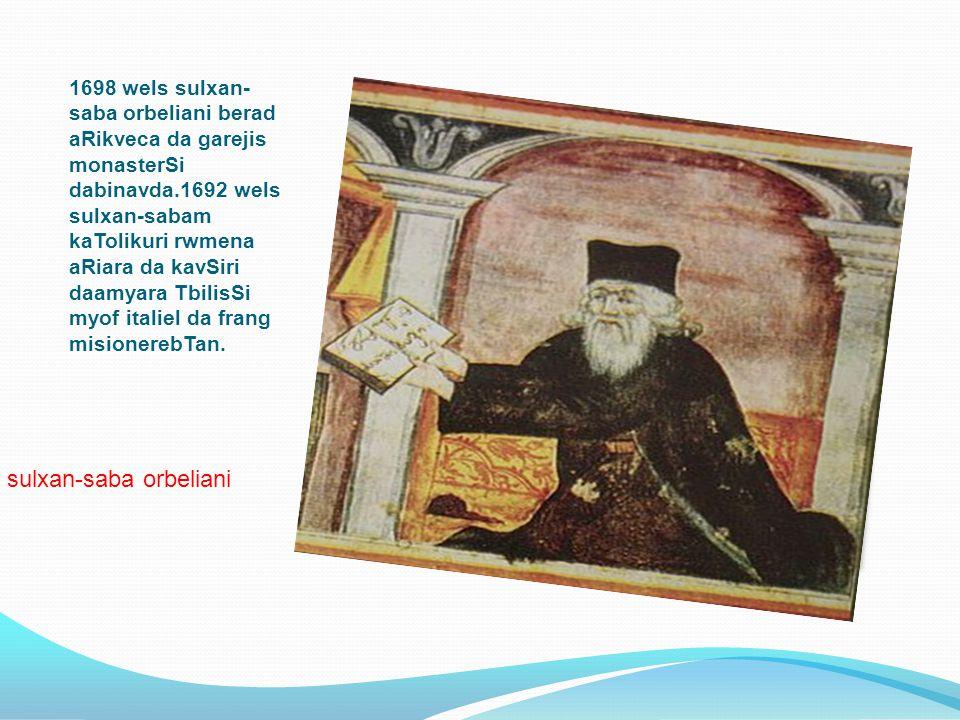 sulxan-saba orbeliani