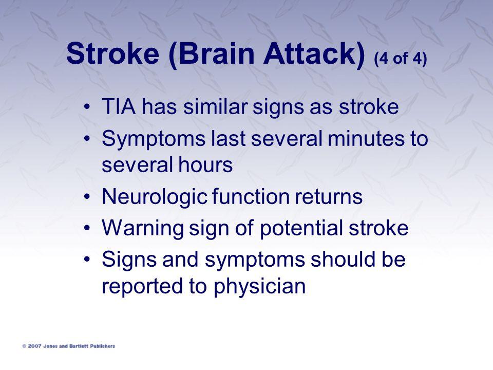 Stroke (Brain Attack) (4 of 4)
