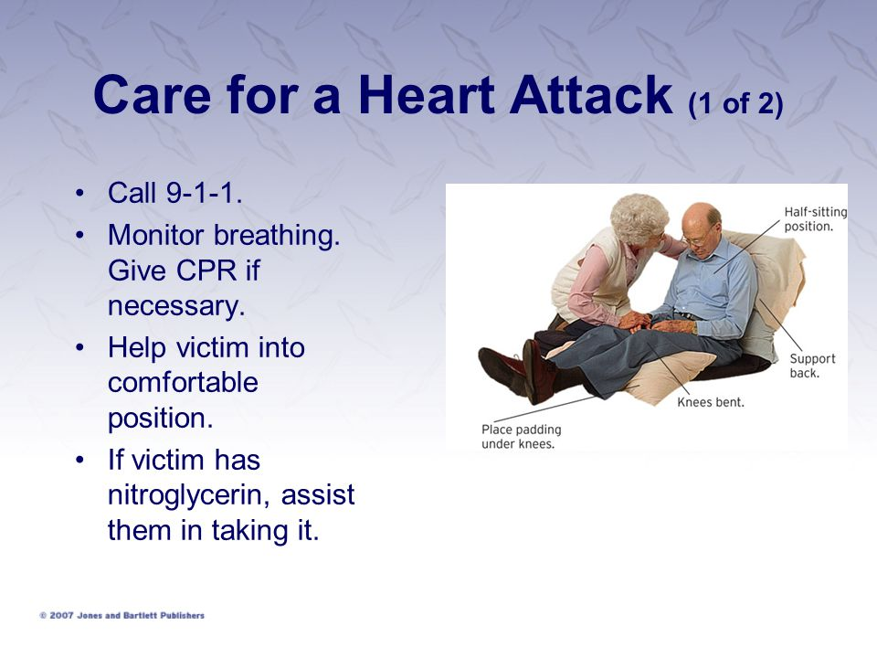 Care for a Heart Attack (1 of 2)
