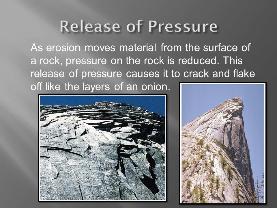 Release of Pressure