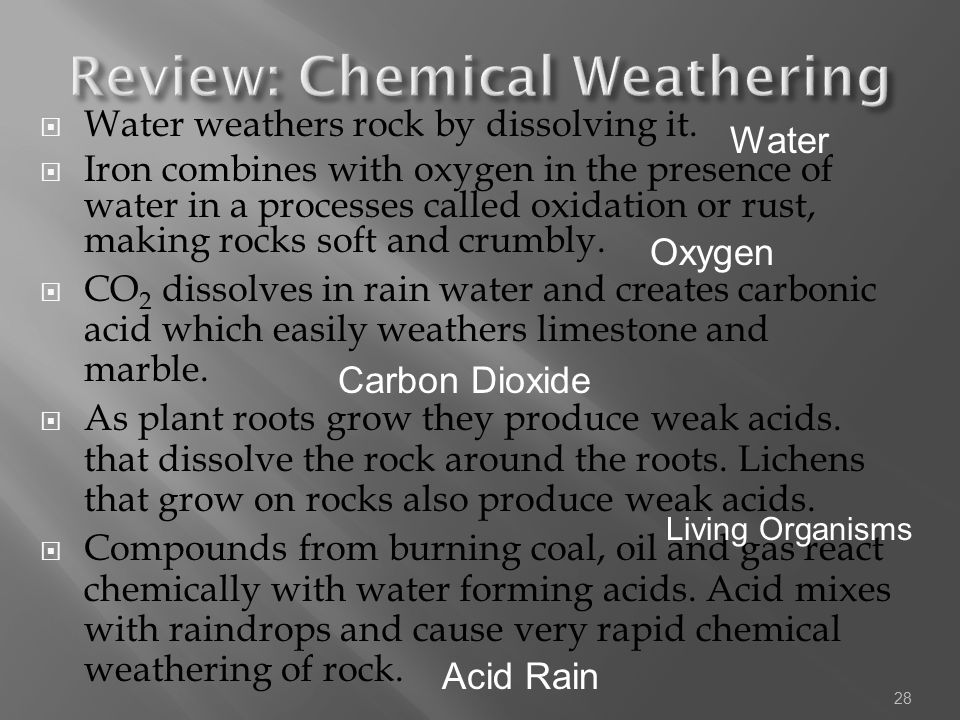 Review: Chemical Weathering