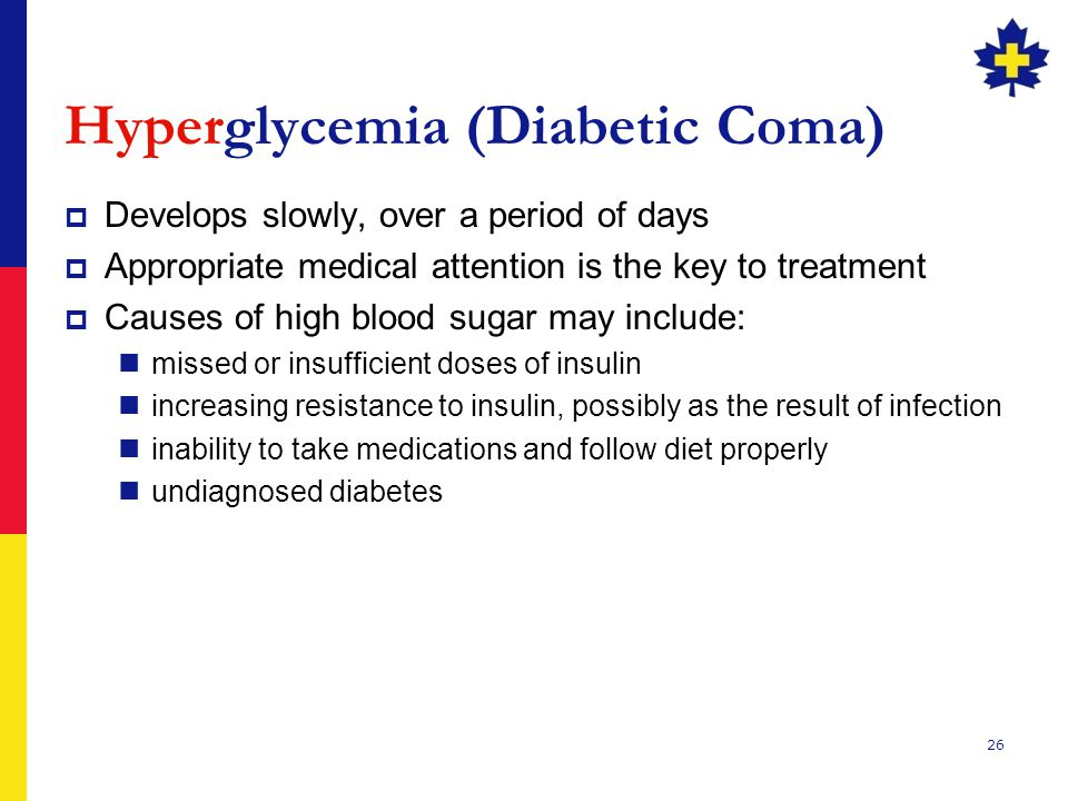 Hyperglycemia (Diabetic Coma)