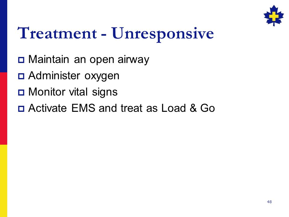 Treatment - Unresponsive
