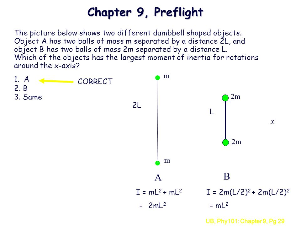 Chapter 9, Preflight