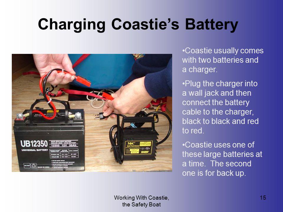 Charging Coastie's Battery