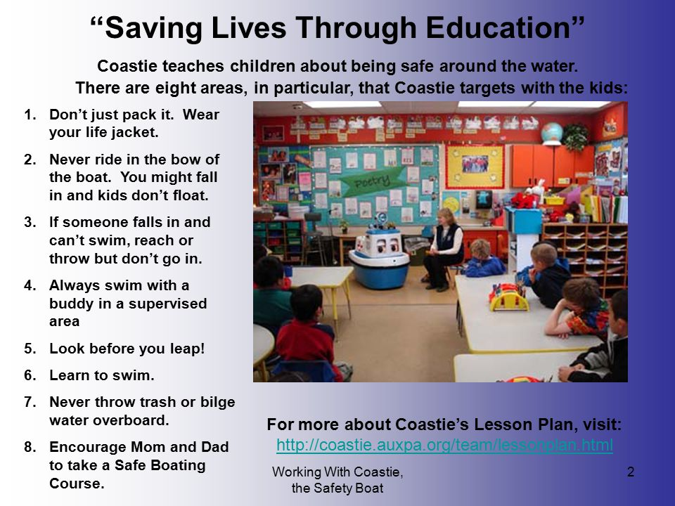 Saving Lives Through Education