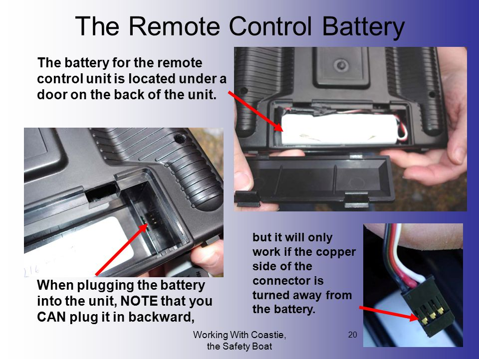 The Remote Control Battery