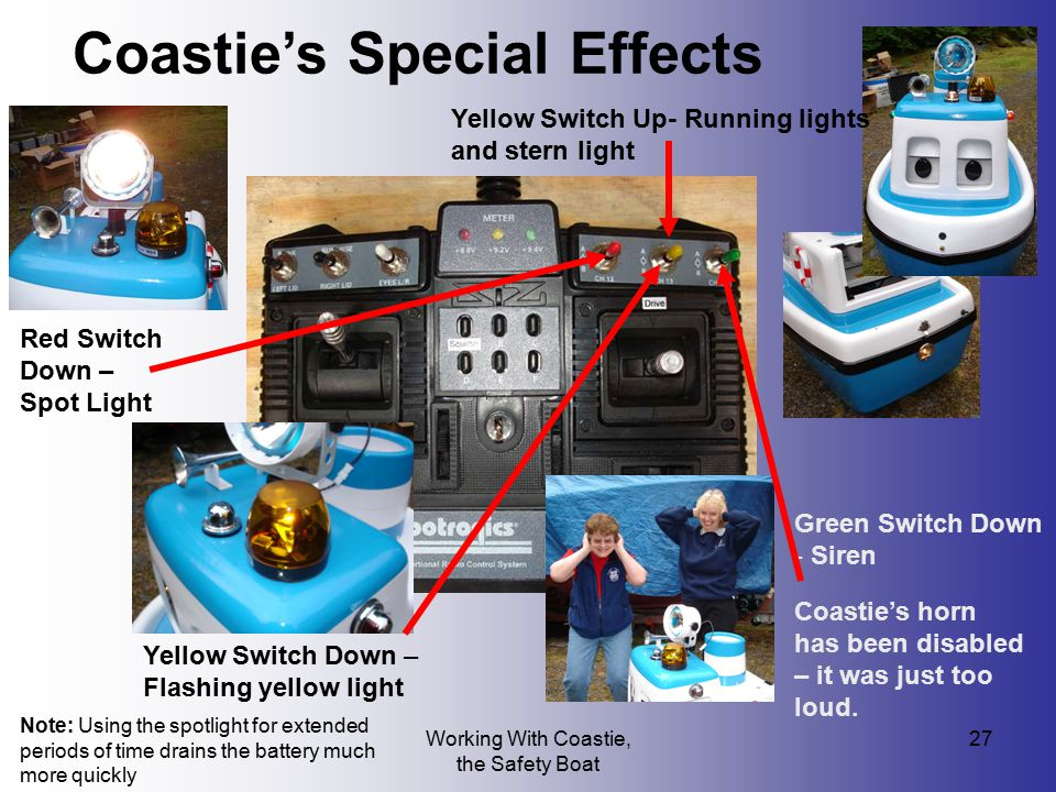Coastie's Special Effects