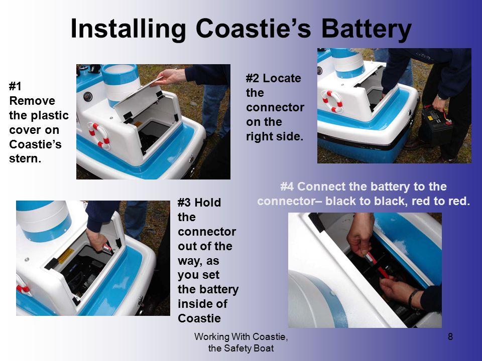 Installing Coastie's Battery