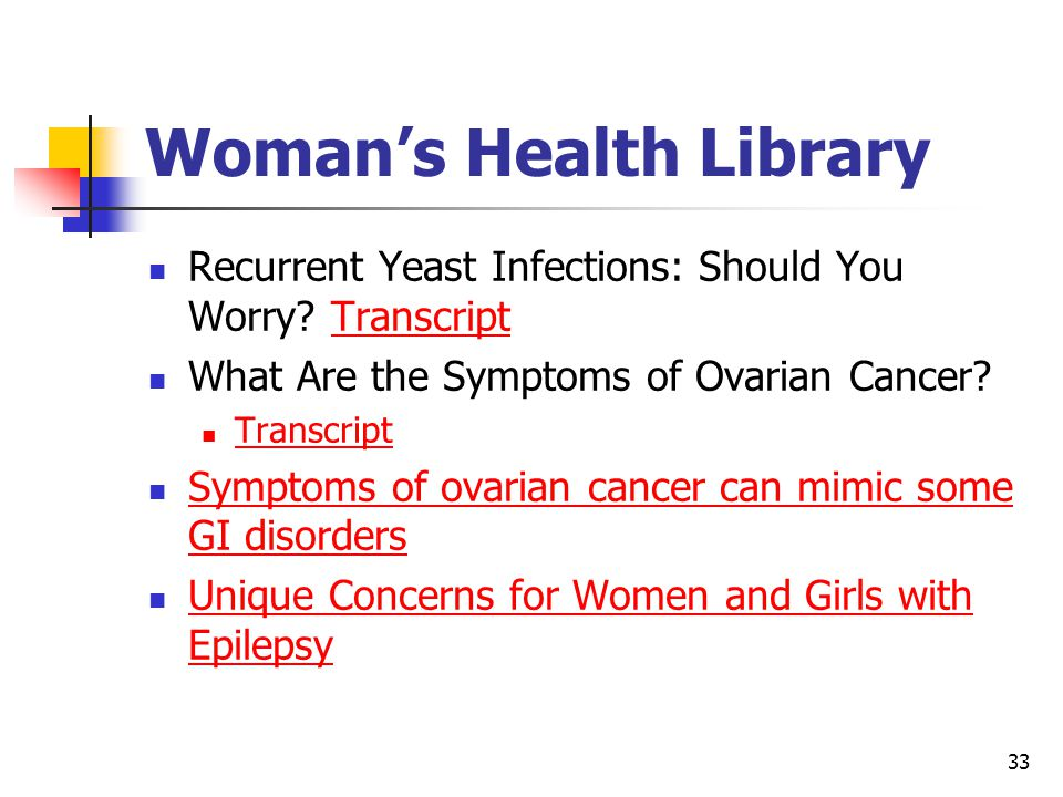 Woman's Health Library